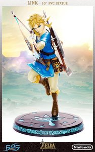 The Legend of Zelda Breath of the Wild Link PVC Statue - First4Figures